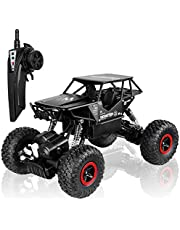 POBO RC Cars Off-Road Vehicles 2.4Ghz 4WD Radio Controlled Trucks Remote Control Rock Crawler High Speed Toy Racer