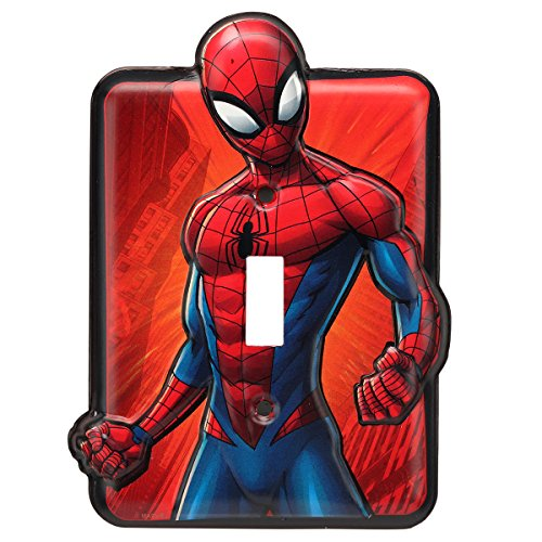 (Open Road Brands Spider-Man Metal Switch Plate)