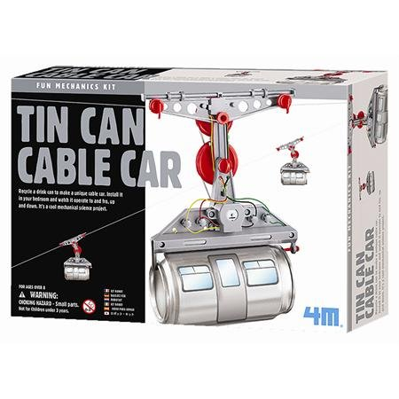 Tin Can Cable Car Kit-2pack