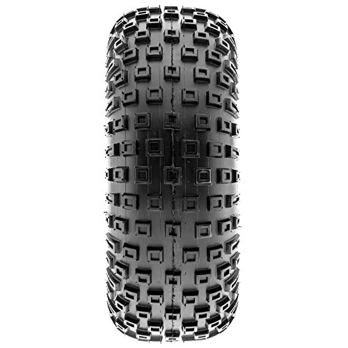 SunF 145/70-6 145/70x6 ATV UTV All Terrain Trail Replacement 6 PR Tubeless Tires A011, [Set of 2] by SUNF (Image #7)