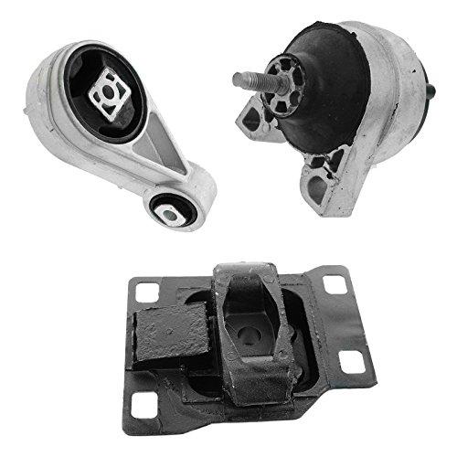 Ford Sohc Motor (Engine Motor Transmission Torque Mount SET for 00-04 Ford Focus 2.0L SOHC)