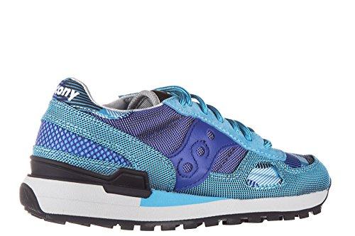 sneakers originale Saucony donna scarpe nuove blu shadow ZqwzUwT5n