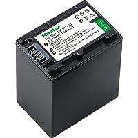Kastar NP-FV100 Battery 1-Pack para Sony NP-FH100 NP-FV100 NP-FH90 FH70 FH60 TRV y Sony DCR-DVD405 407E 408 410E 450 602E 610 650E DCR-HC96 DCR-SR85 HDR-HC9 HDR-UX20 HDR-UX20 HDR-UX20 HDR-UX20 -SR65E XR500E CAMARA