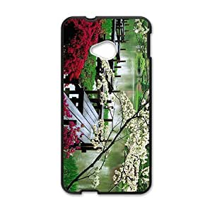 Personalized Creative Cell Phone Case For HTC M7,glam spring parks beauty scene