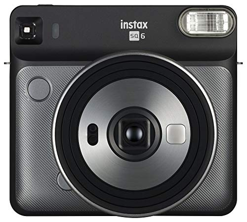 Fujifilm Instax Square SQ6 – Instant Film Camera – Graphite Grey (Renewed)