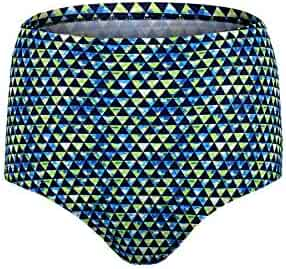 a14382789360f Jinxueer Women s Plus-Size High Waist Vintage Bikini Swimsuit Bottom