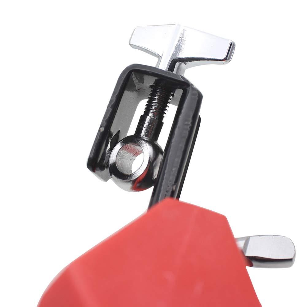 Plastique Cloche avec b/âton de Tambour Tambour Percussion Musical Accessoire Alomejor aigu Cowbell