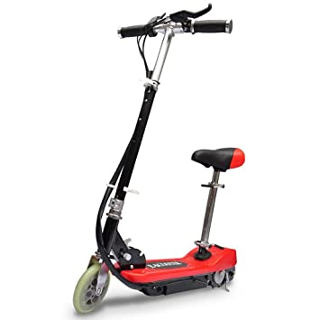 vidaXL S de scooter eléctrico Mini Bike 120 W batería Motor eléctrico Scooter eléctrico Patinete 12 km/h