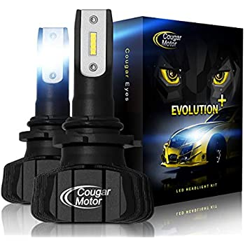 Amazon Com Cougar Motor Led Headlight Bulbs All In One