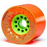 Orangatang Caguama 85 mm Downhill Longboard Skateboard Cruising wheels (Set of 4)