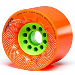 The Orangatang Caguama: Big and Beautiful. Voluptuous urethane (proportionate in all the right places) for high speed with grip, comfort, and momentum. Fast, Comfortable, & Functional — At 85mm tall, the Caguama provides maximum roll spee...