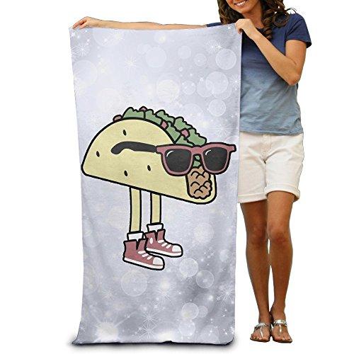 Aiguan Bath Towel - Cool Sunglass Taco Soft Large Swim Beach Towels