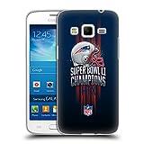 Official NFL New England Patriots 1 2017 Super Bowl Li Champion Soft Gel Case for Samsung Galaxy Express 2 G3815