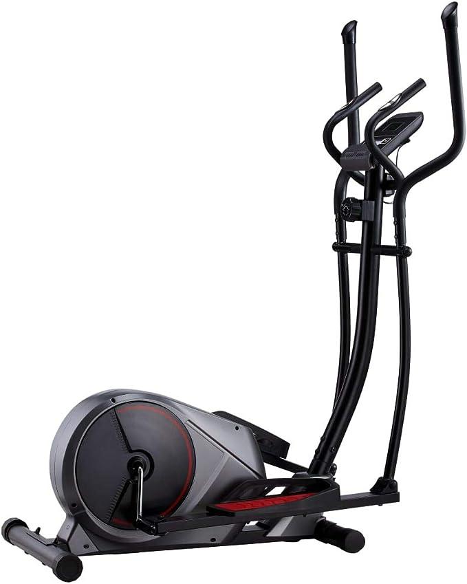 UnfadeMemory Bicicleta Elíptica Magnética para Casa con Volante ...