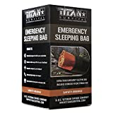 Titan Emergency Sleeping Bag/Thermal Bivy | Safety-Orange | PE, 36' x 78'
