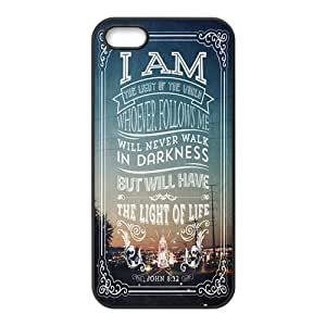 Bible Verse Protective Rubber Back Fits Cover Case for iPhone 5 5s