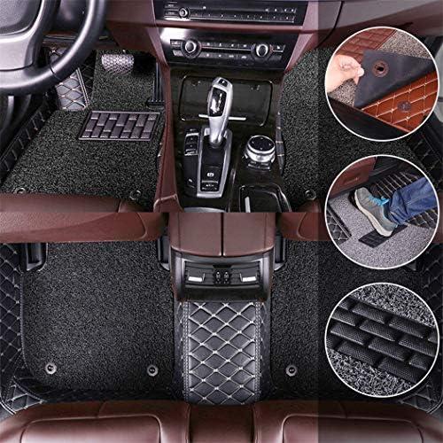 SureMart Winter Floor Mats for Car for Toyota Camry XV50 2012-2017 Floor Liner Carpet Soft Shockproof Waterproof Car Mats Black and Black