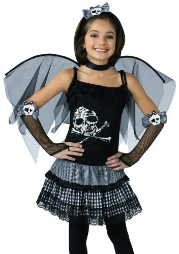 Funky Punk Fairy Costume Child Large