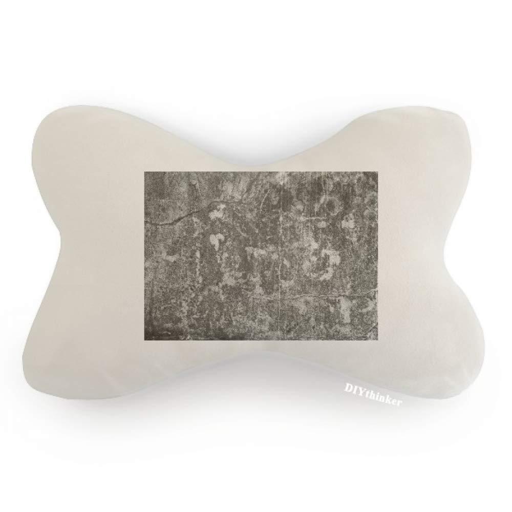 DIYthinker Dark Stone Wall Surface Crackles Texture Car Neck Pillow Headrest Support Cushion Pad