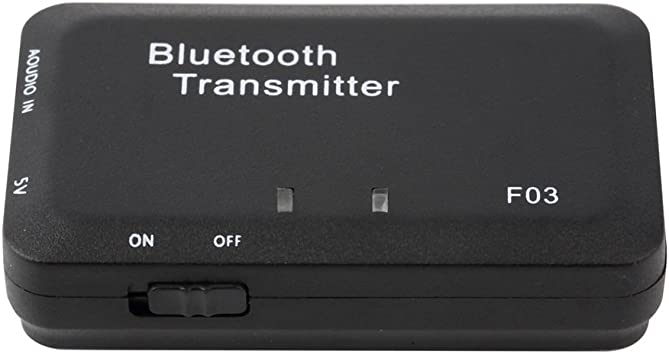 Mini TS-BT35F03 Receptor de Audio inalámbrico Bluetooth Music Transmitter para Auriculares Smart TV MP3 Dongle Adapter Negro: Amazon.es: Electrónica