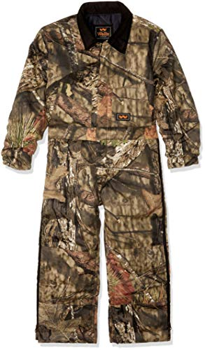 Walls Boys Camo Insulated Coverall, Mossy Oak Country, -