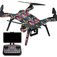 MightySkins Protective Vinyl Skin Decal for 3DR Solo Drone Quadcopter wrap cover sticker skins Bold Tile