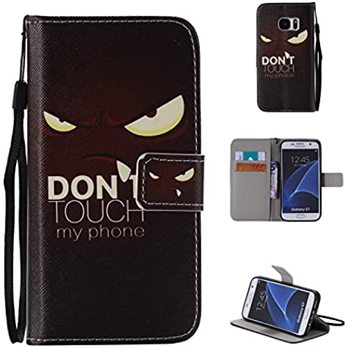 S7 Case,S7 Strap Wallet Case Leather,Creative case PU Leather Wallet Flip Case,MOONESS(TM)[stand feature] [Card Slots] [Magnetic Closure] Case Cover Sales