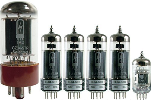 Tube Complement for Divided By 13 RSA 31, Tube Amp Doctor brand tubes
