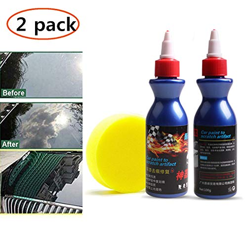One Glide Scratch Remover - Ultimate Car Scratch Remover Polish & Paint Restorer - Easily Repair Paint Scratches, Scratches, Water Spots! Light Scratches Remover Kit (KIT B)