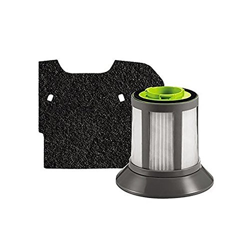 ell Filter Pack, Fits Zing Bagless Canister 1664, 1665, 1669 series. (1608602) ()
