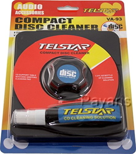 Compact Disc Cleaner For CD DVD VCD & Video Games