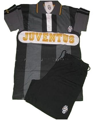 Pijama Juventus FC Camiseta Polo + pantalón Corto, Ropa Oficial ...