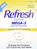 Refresh Optive Mega-3 Lubricant Eye Drops, 30