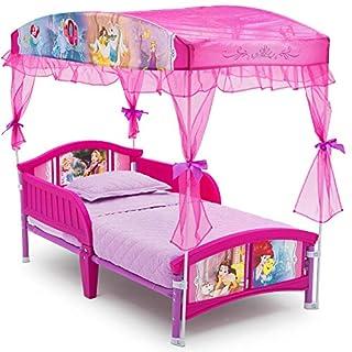 Delta Children Canopy Toddler Bed, Disney Princess