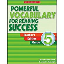 Powerful Vocabulary for Reading Success Grade 5: Teaching Guide