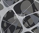 art borders ZAHA HADID wallpaper, color: black, grey, silver, platinum, article no:. 6050-4130