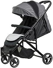SAFETY 1ST Willow Compact Newborn 4 Wheel Stroller, Silver Mist