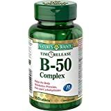 Nature's Bounty Time Release B-50 Complex Tablet