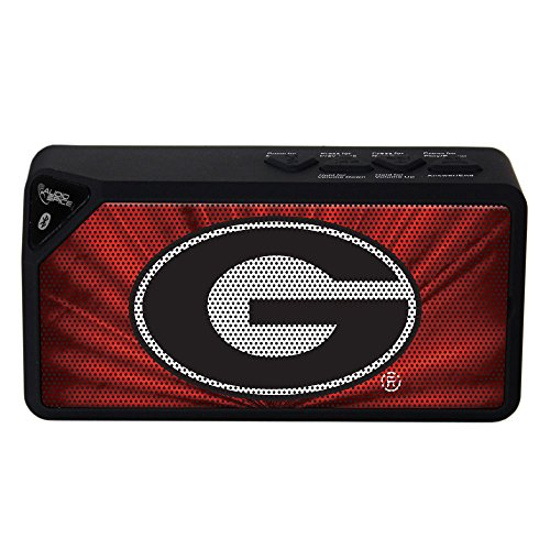 AudioSpice NCAA Georgia Bulldogs BX-100 Bluetooth Speaker, ()