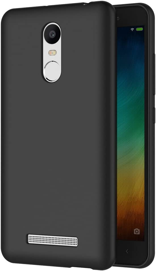 AICEK Funda Xiaomi Redmi Note 3, Negro Silicona Fundas para Xiaomi ...