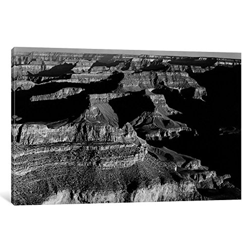 iCanvasART AAD17-1PC6-40x26 Grand Canyon National Park XX Gallery Wrapped Canvas Art Print by Ansel Adams, 26