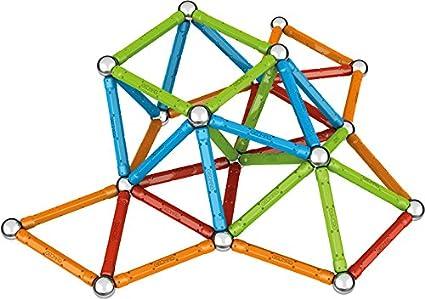 Geomag Lot de 32 confettis magn/étiques et jeux /éducatifs
