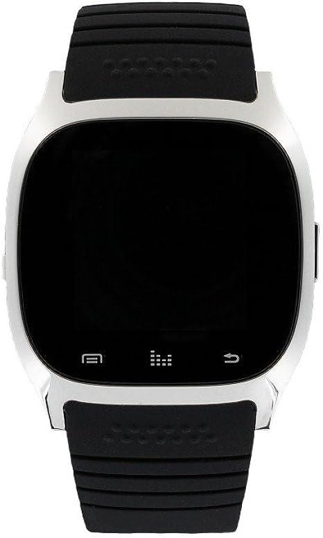 Eclock Reloj Digital para Unisex Adultos de Cuarzo con Correa en Caucho EK-B4