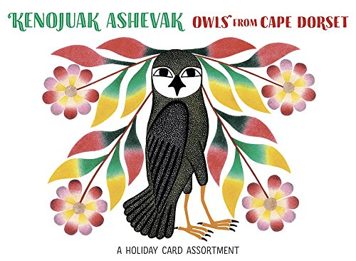 Kenojuak Ashevak: Owls: Cape Dorset Holiday Card Assortment