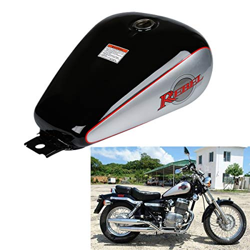 (XFMT 3.4 Gallons Fuel Gas Tank Compatible with Honda CMX 250 CMX250 Rebel 1985-2014 13)