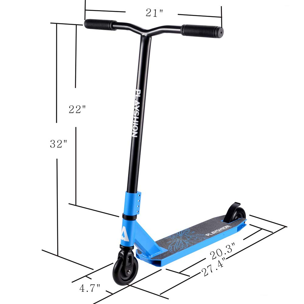Playshion Freestyle Pro Scooter Beginner Quality Stunt Scooters