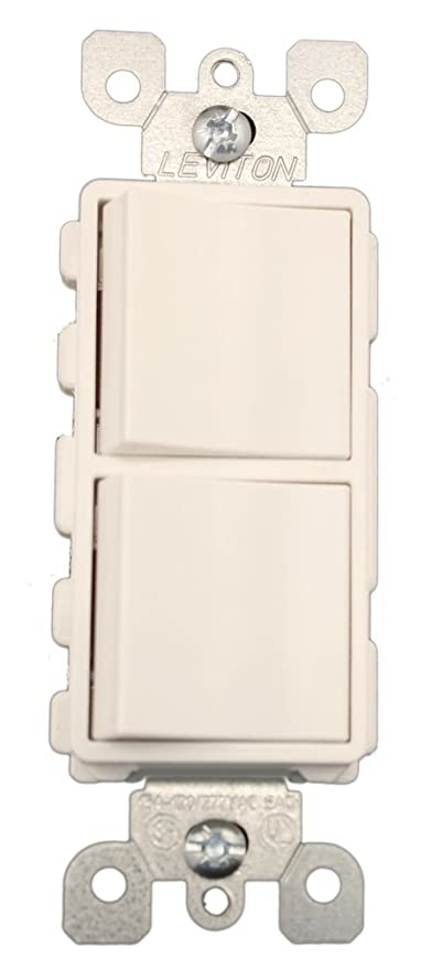 Leviton 5643W 15 Amp 120277 Volt Decora Brand Style 3Way 3