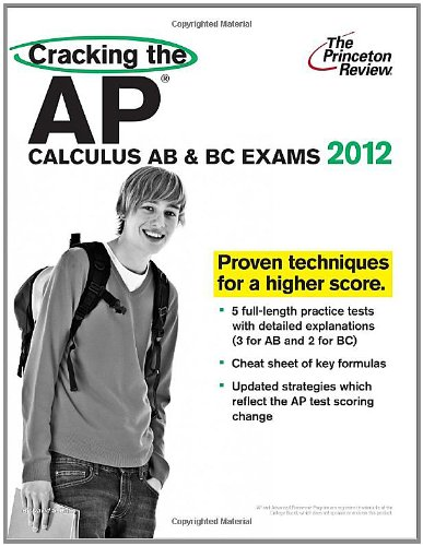 Download Cracking The Ap Calculus Ab Bc Exams 2012 Edition