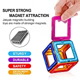Kids Building Toy, Jakpak Magnetic Building Tiles Blocks Stack Set Toy Children Educational Toys Toddler Intellectual Development Block Game Enhance Creativity Child Birthday Present 36 pcs