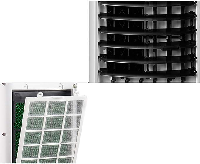 Refrigerador de aire acondicionado móvil con ventilador y ...